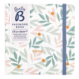 Busy B, Hardback Password Notebook