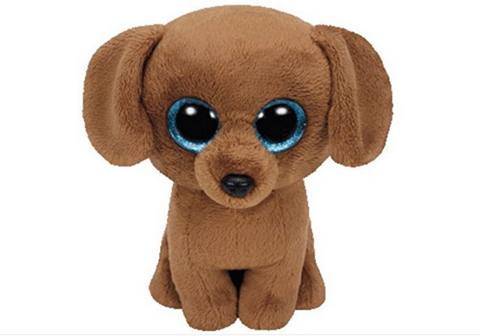 Beanie Boo - Dougie 6inch plush soft toy