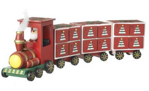 Christmas Train Advent Calendar by Heaven Sends