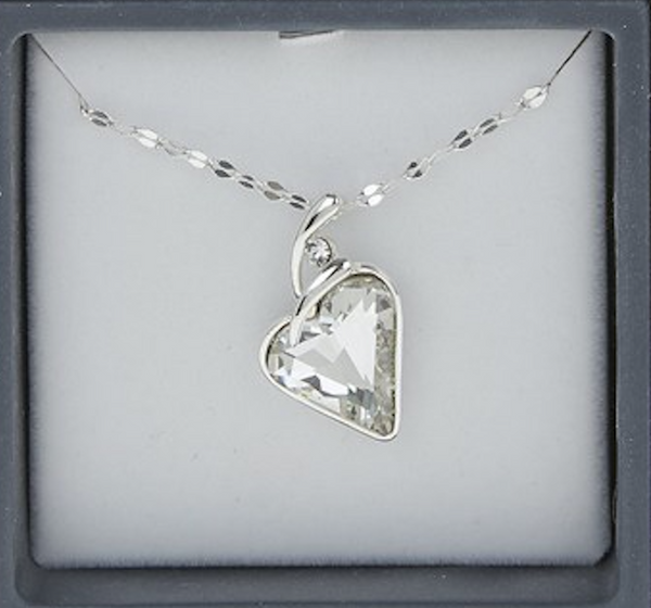 7ce84cb99f0ee Equilibrium Crystal Heart Necklace