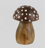 Dark Polka Dot Toadstools