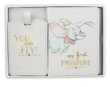 Dumbo, My First Passport Holder and Luggage Tag, gift set