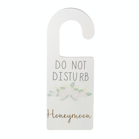 Door Hanger - Do Not Disturb - Honeymoon