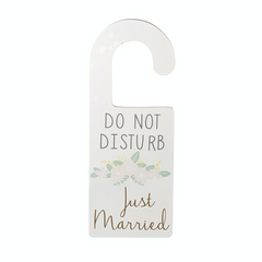 Do not disturb   just married grande