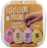 Eggcellent Friend, set of 4 savings pots