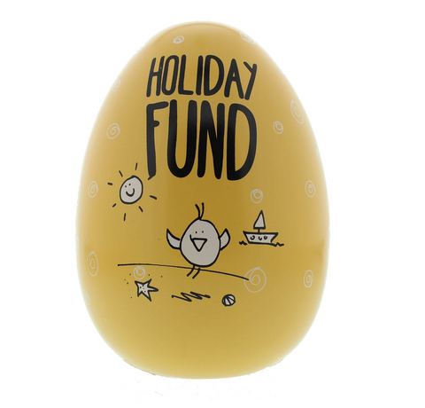 "Eggcellent ""Holiday Fund"" Large Nest Egg"