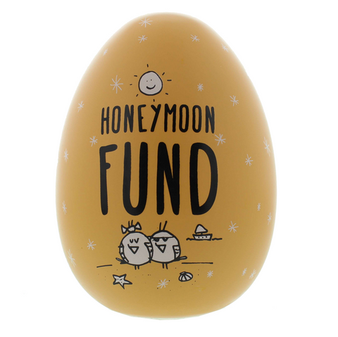 "Eggcellent ""Honeymoon Fund"" Nest Egg"