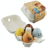 "Eggcellent, set of 4 savings pots, ""Baby"""