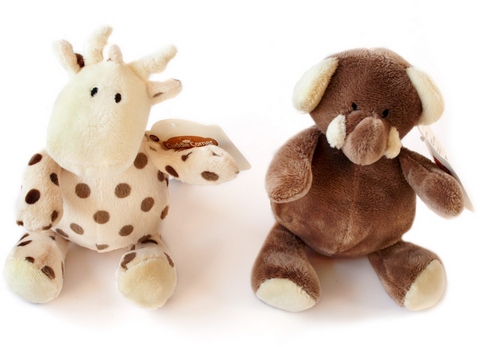 Elli and Raff Plush Toys