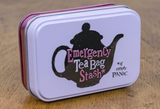 Emergency Tea Bag Stash, Storage Tin