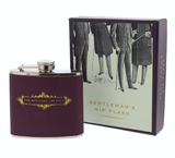 Emporium, 5oz Gentleman's Hip Flask - For Medicinal Use Only