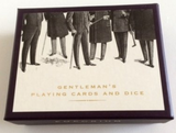 Emporium Gentleman's Paying Cards and Dice Presention Box