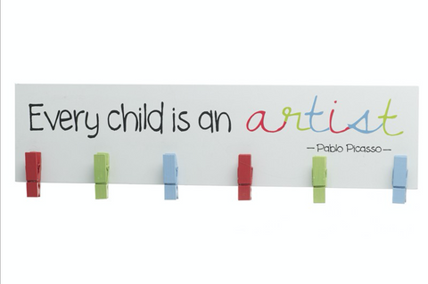 Every Child is an Artist, Pegs Sign