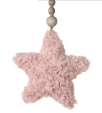 Fuzzy, Fabric Hanging Star Decoration