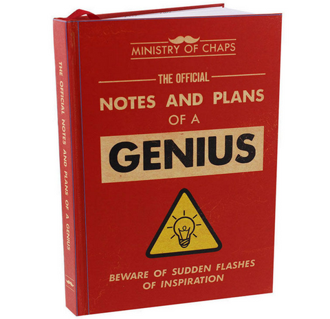 "Ministry of Chaps, ""Notes and Plans of a Genius"", notebook"