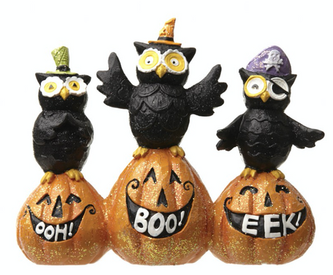 Halloween Owls Decoration
