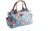 Katie, Blue Floral Tote Bag