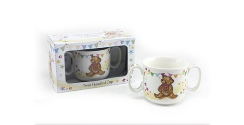 Little Bear Hugs Collection, twin handled cup