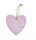 Mauve - Mum... love you to the Moon and Back