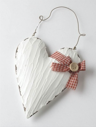 Metal Heart with Hanger