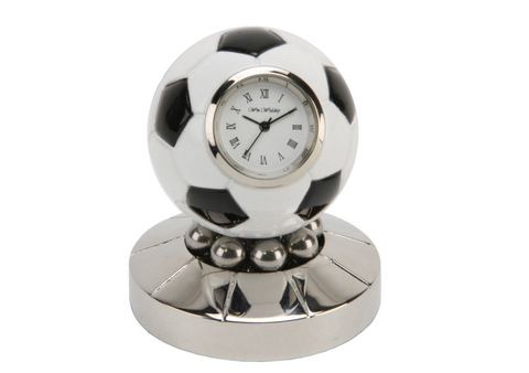 Miniature, Rotating Football, Clock