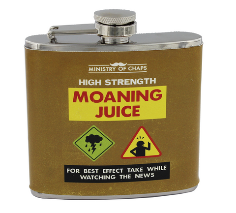 Ministry of Chaps, High Strength Moaning Juice, Hip Flask