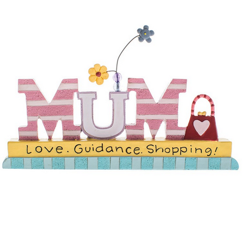 Mum, Love Guidance Shopping, Plaque