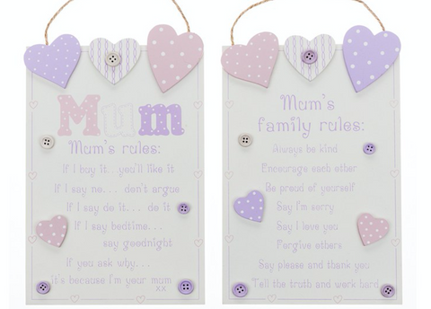 Mum's Rules and Mum's Family Rules
