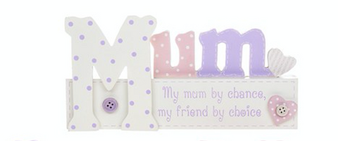 Message block: My mum by chance, my friend by choice