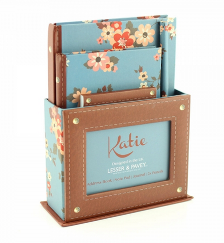 Katie floral design Gift Set, stationery
