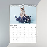 Personalised, Cats & Kittens Calendar