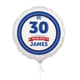 Personalised Birthday Star Balloon