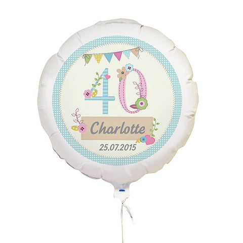 Personalised craft balloon