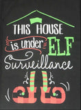 Elf Surveillance, tea towel