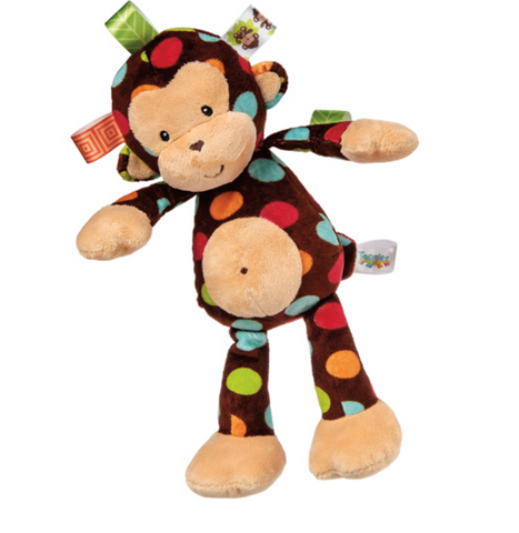Taggies, Dazzle Dots Monkey, Soft Toy by Mary Meyer