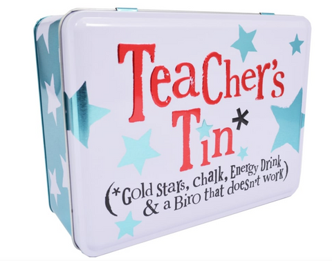 Teacher's Tin by Bright Side