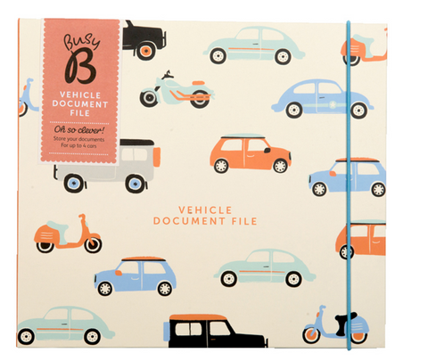Vehicle Document File, Busy B