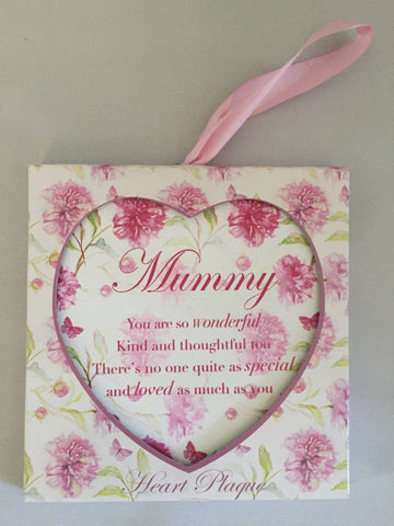 Vintage Lane Floral Hanging Plaque, Mummy
