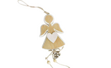 Wooden hanging Angel decoration by Heaven Sends