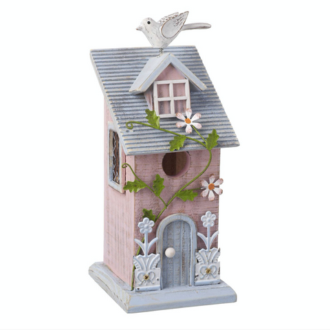 Hanging Wooden Bird House, Heaven Sends