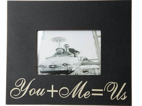 You + Me = Us, photo frame