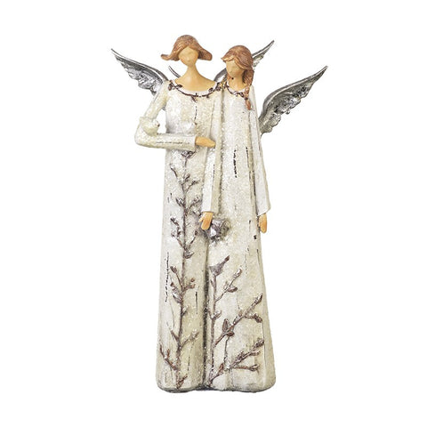Twin angel decoration