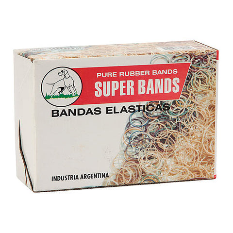 BANDA ELASTICA SUPER BANDS 25MM x 500 GRS