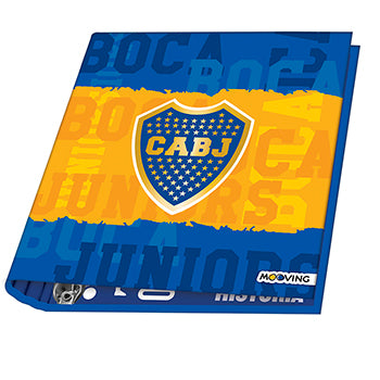 CARPETA ESCOLAR 3X40 BOCA 2020 MOOVING