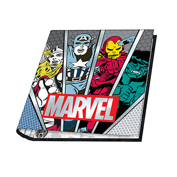 CARPETA ESCOLAR 3X40 MARVEL 2021 MOOVING
