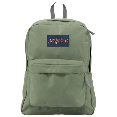 MOCHILA JANSPORT  BLACK LABEL SUPERBREAK MUTED GREEN WK80HC
