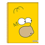 CUADERNO A4 UNIVERSITARIO THE SIMPSONS MOOVING
