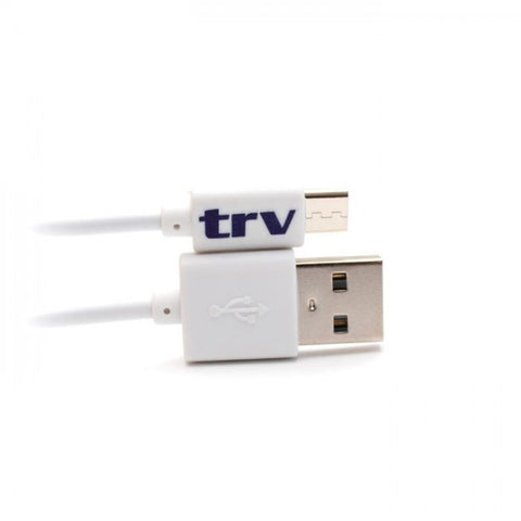 CABLE USB-MICRO USB 1 MT TRV BLANCO