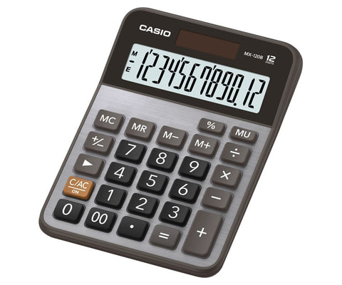 CALCULADORA CASIO de ESCRITORIO MX-120B