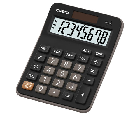 CALCULADORA CASIO de ESCRITORIO MX-8B Mediana